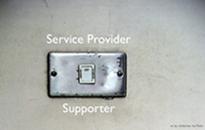 IT 單位是服務單位,同時也是支援單位